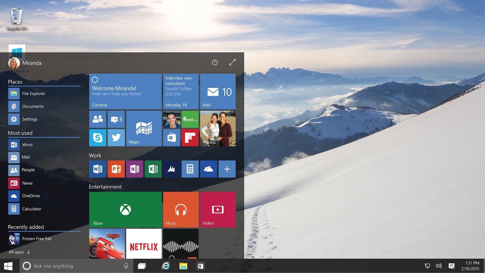 certain programs wont open windows 10